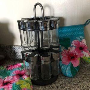 Large 16 Jar - 2 Tier - Spinning Spice Rack